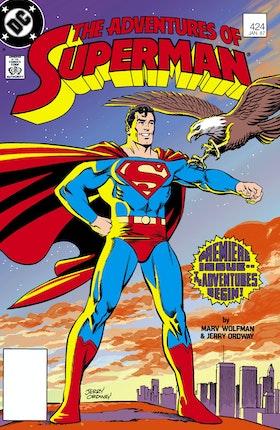 Adventures of Superman (1987-2006) #424