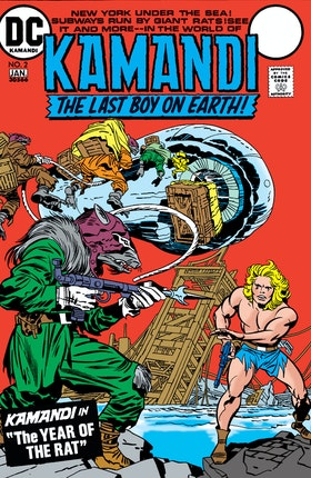 Kamandi: The Last Boy on Earth #2