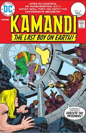 Kamandi: The Last Boy on Earth #15