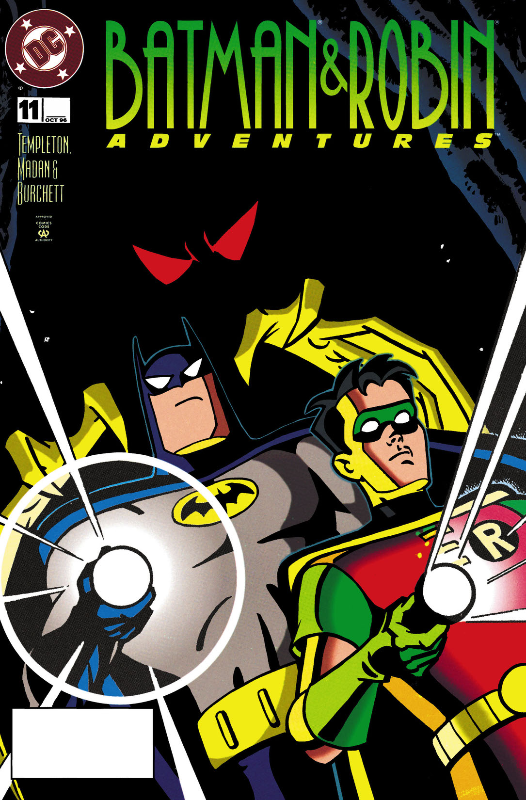 read the batman and robin adventures 1995 11 on dc. Black Bedroom Furniture Sets. Home Design Ideas