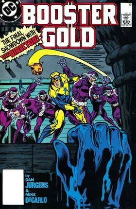 Booster Gold (1985-) #12