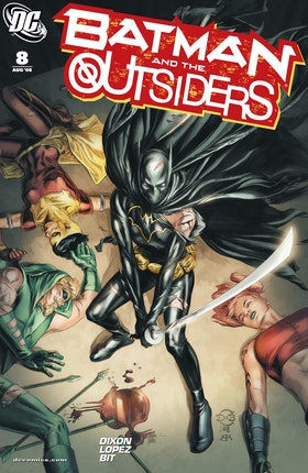 Batman and the Outsiders (2007-) #8