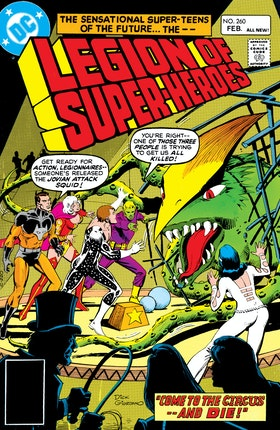 The Legion of Super-Heroes (1980-) #260