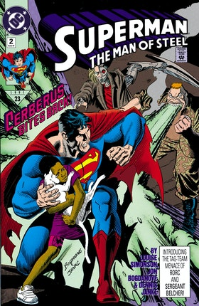 Superman: The Man of Steel #2