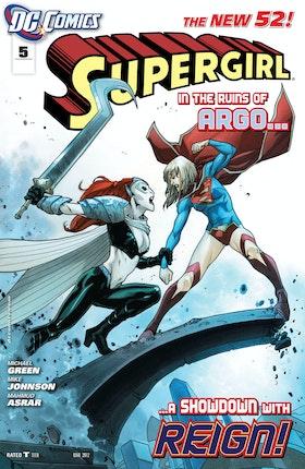 Supergirl (2011-) #5