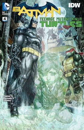 Batman/Teenage Mutant Ninja Turtles #4