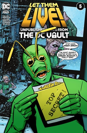 Let Them Live!: Unpublished Tales from the DC Vault #5