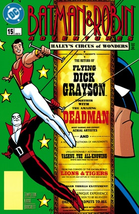 The Batman and Robin Adventures #15