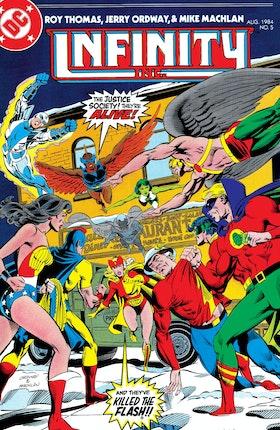 Infinity, Inc. (1984-) #5
