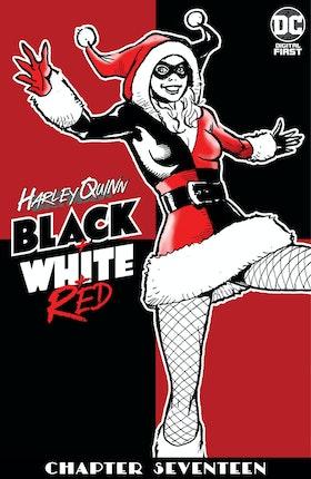 Harley Quinn Black + White + Red #17