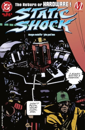 Static Shock!: Rebirth of the Cool #3