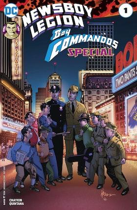 The Newsboy Legion and the Boy Commandos Special #1 #1