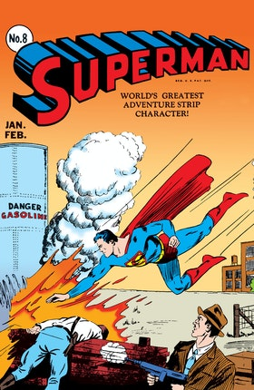 Superman (1939-1986) #8