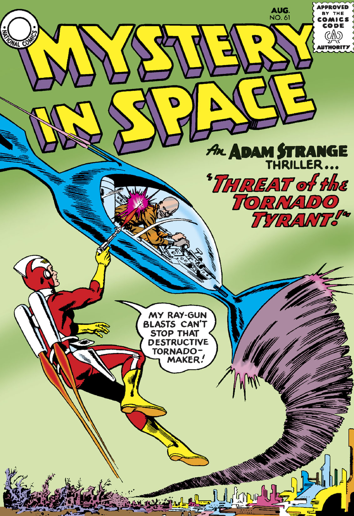 Read Mystery in Space (1951-) #61 on DC Universe
