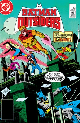 Batman and the Outsiders (1983-) #13