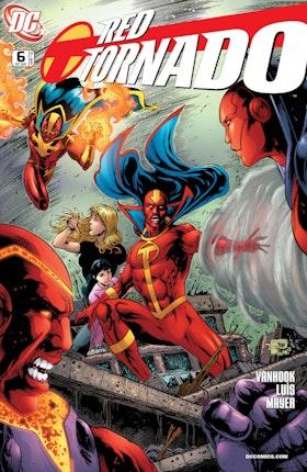 Red Tornado (2009-) #6