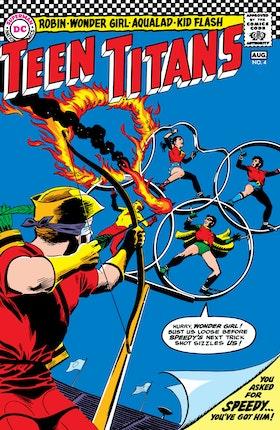Teen Titans (1966-) #4