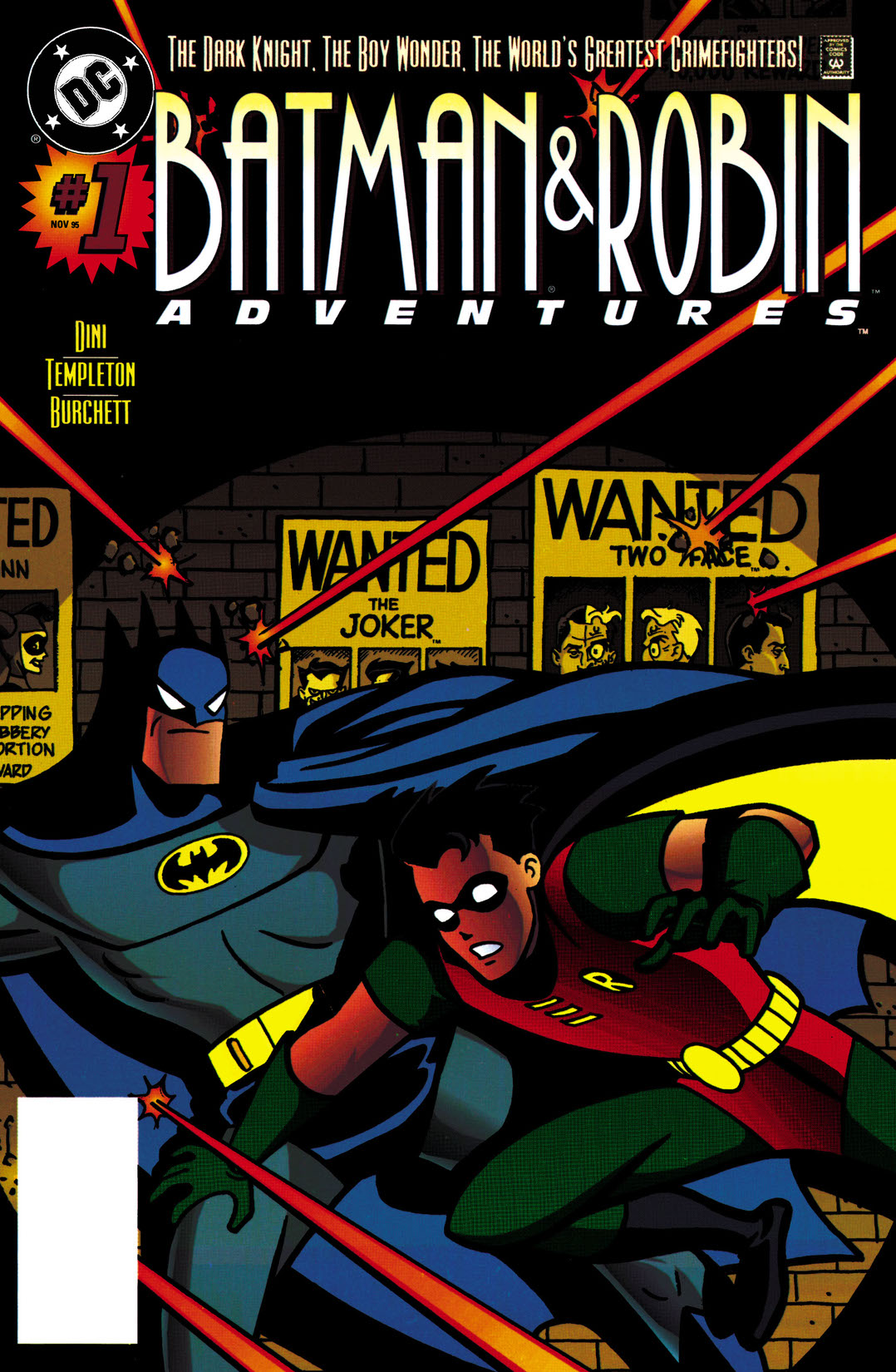 read the batman and robin adventures 1995 1 on dc universe