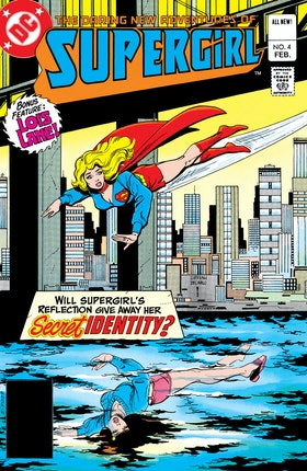 The Daring New Adventures of Supergirl #4
