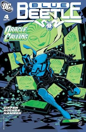 Blue Beetle (2006-) #4