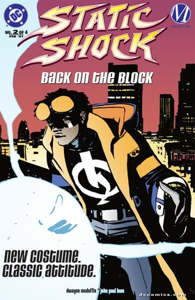 Static Shock!: Rebirth of the Cool #2