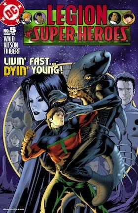 Legion of Super Heroes (2004-) #5