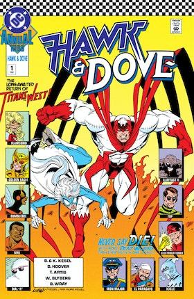 Hawk & Dove Annual (1990-) #1