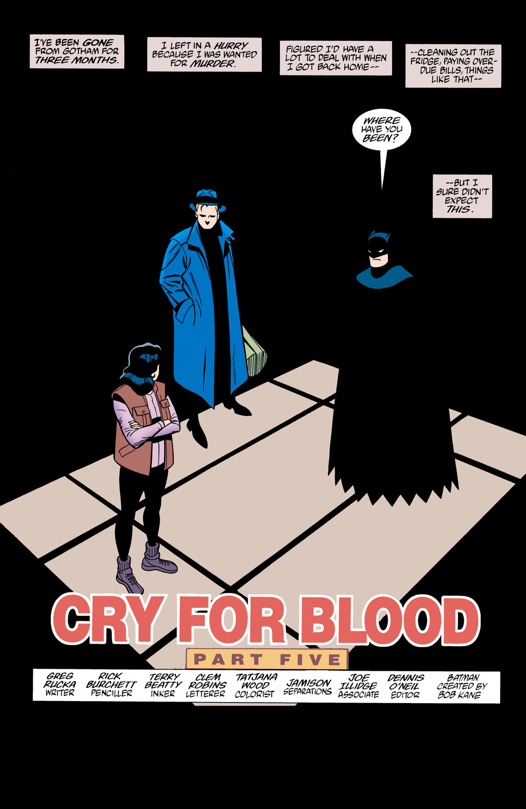 Read Batman/Huntress: Cry for Blood (2000-) #5 on DC Universe