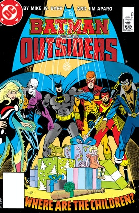Batman and the Outsiders (1983-) #8
