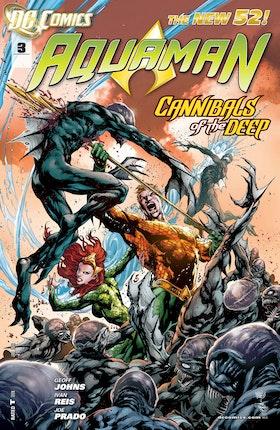 Aquaman (2011-) #3