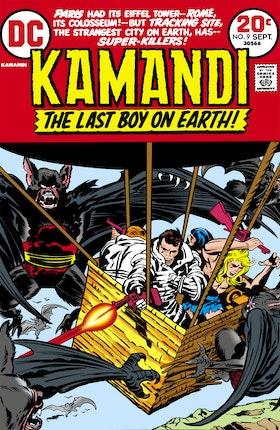 Kamandi: The Last Boy on Earth #9