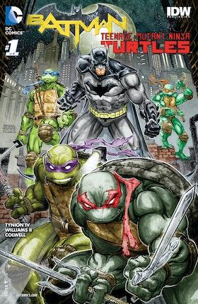 Batman/Teenage Mutant Ninja Turtles #1