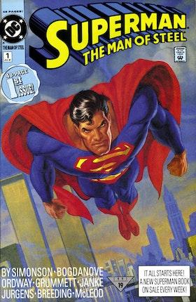 Superman: The Man of Steel #1
