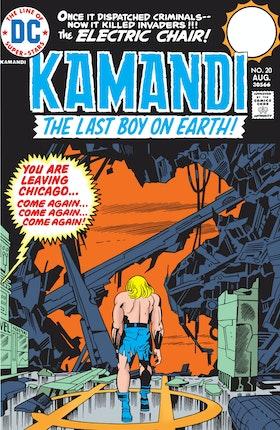 Kamandi: The Last Boy on Earth #20