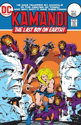 Kamandi: The Last Boy on Earth #8