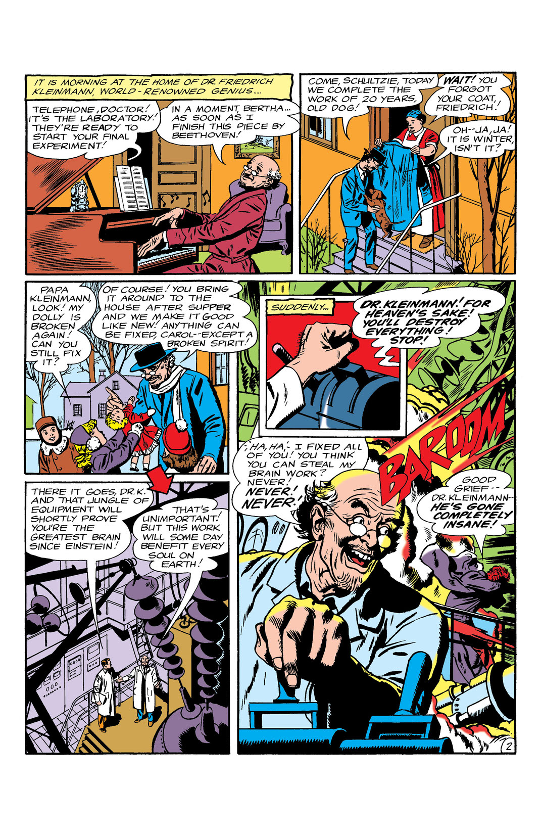 Read Doom Patrol (1964-) #96 on DC Universe