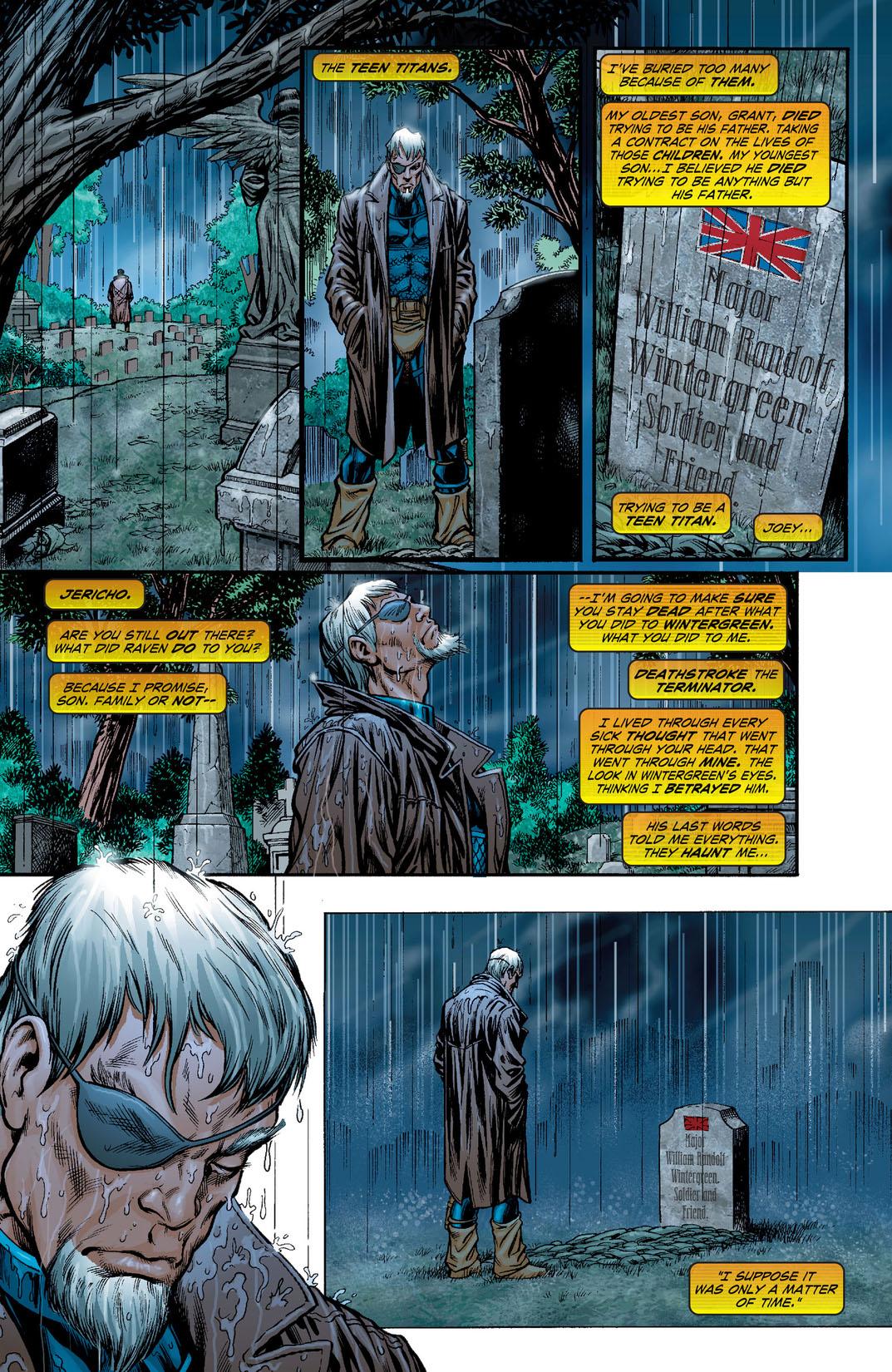 Read Teen Titans (2003-) #7 on DC Universe