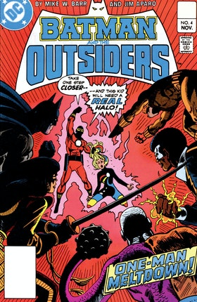 Batman and the Outsiders (1983-) #4
