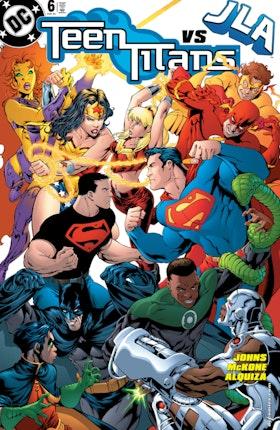 Teen Titans (2003-) #6