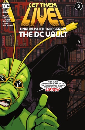 Let Them Live!: Unpublished Tales from the DC Vault #3
