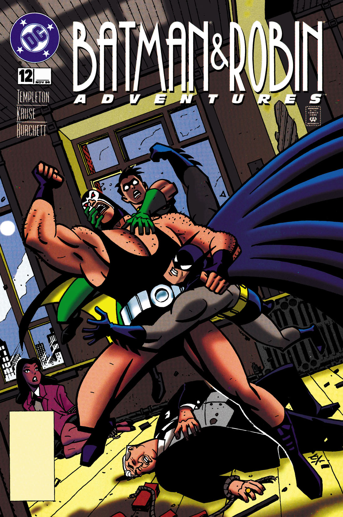 read the batman and robin adventures 1995 12 on dc. Black Bedroom Furniture Sets. Home Design Ideas