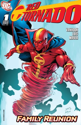 Red Tornado (2009-) #1