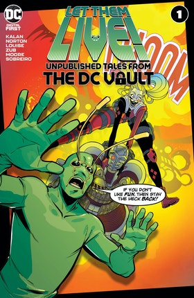 Let Them Live!: Unpublished Tales from the DC Vault #1