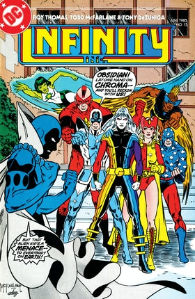 Infinity, Inc. (1984-) #15