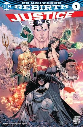 Justice League (2016-) #1