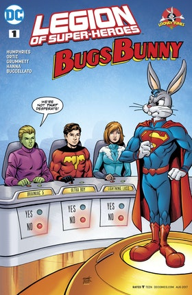 Legion of Super Heroes/Bugs Bunny Special #1