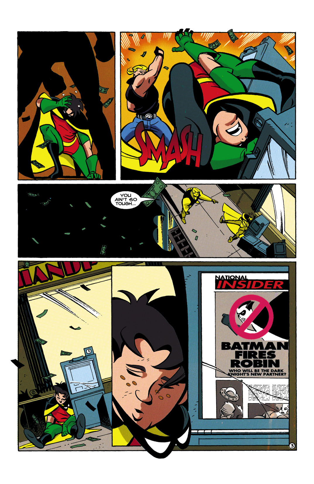 read the batman and robin adventures 1995 6 on dc universe