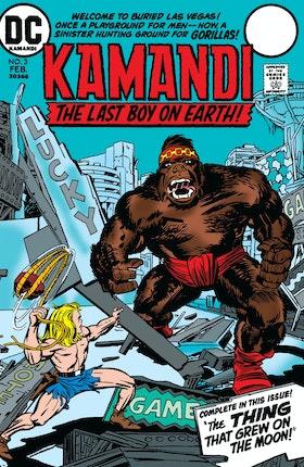 Kamandi: The Last Boy on Earth #3