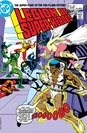 The Legion of Super-Heroes (1980-) #264