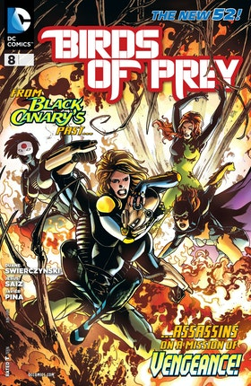 Birds of Prey (2011-) #8
